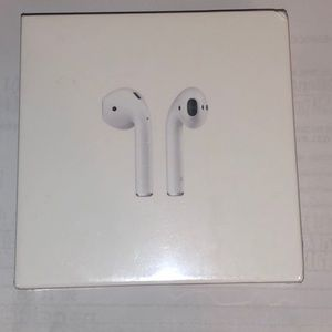 Apple air pods in box